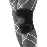 D&M跑步登山运动护膝男开放式徒步膝盖护具日本原装进口 D-81黑L一只装