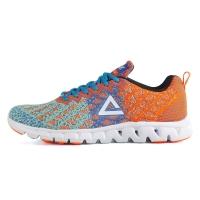 匹克(PEAK)时尚运动鞋  男跑步鞋DH610327 奶玉色/荧光橙 42码