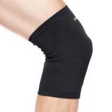 D&M跑步護膝男 保暖運動護具羽毛球徒步登山膝蓋損傷防護 821黑M一只裝