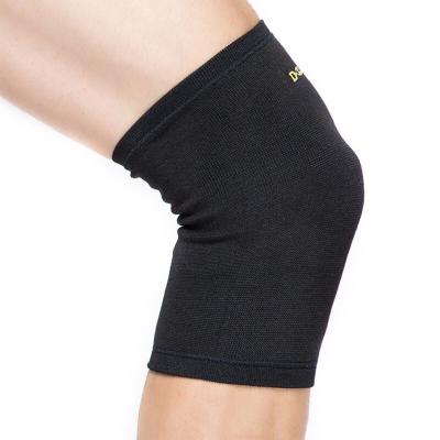 D&M跑步护膝男 保暖运动护具羽毛球徒步登山膝盖损伤防护 821黑M一只装