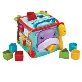 费雪(Fisher Price)多功能益智早教玩具 探索学习六面盒(双语) CMY28
