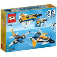 乐高 创意百变系列 6岁-12岁 超级滑翔机 31042 儿童 积木 玩具LEGO
