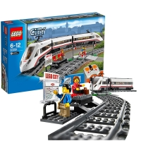 乐高 玩具 城市组 City 6岁-12岁 高速客运列车 60051 积木LEGO