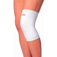 D&M 远红外护膝保暖男女加厚内护膝盖冬季老人护膝透气 日本原装进口5800L一只装