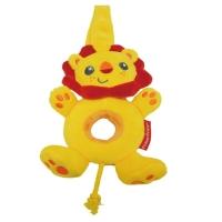 费雪Fisher-Price 狮子王摇铃 响铃 幼儿牙胶 儿童公仔毛绒玩具 互动玩具 FPL008