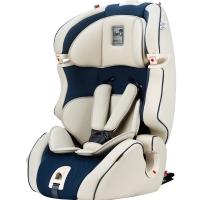 kiwy原装进口宝宝汽车儿童安全座椅isofix硬接口 9个月-12岁 无敌浩克 道奇蓝