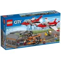 乐高 城市系列 6岁-12岁 机场飞行表演 60103 儿童 积木 玩具LEGO