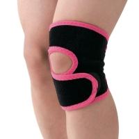 D&M女士护膝登山跑步羽毛球运动护具膝盖损伤护具日本原装进口 D-82粉黑L一只装