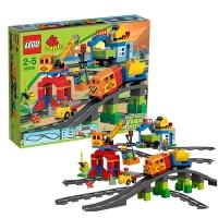 乐高 玩具 得宝 DUPLO 2岁-5岁 豪华火车套装 10508 积木LEGO