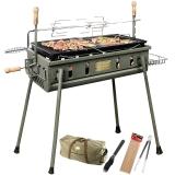 烧烤世家(e-Rover)大号烧烤架 便携带背包烧烤炉 加厚钢板硬汉系列烤炉 威戈