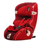 Kiwy原装进口汽车儿童安全座椅 无敌浩克 isofix硬接口 9个月-12岁宝宝车载座椅 至尊红