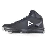 匹克(PEAK)篮球鞋运动鞋 男款减震耐磨防滑经典战靴DA054611黑色/冰川灰40