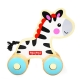 费雪 Fisher Price 益智早教玩具 小小动物推车-小小斑马FP1007