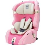 Kiwy原装进口汽车儿童安全座椅 无敌浩克 isofix硬接口 9个月-12岁宝宝车载座椅 天使粉