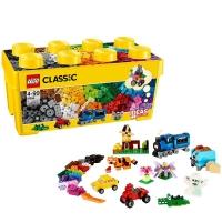 乐高(LEGO)积木 经典创意Classic中号积木盒4-99岁 10696 儿童玩具 男孩女孩生日新年礼物
