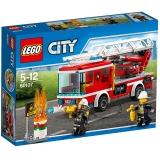 乐高 城市系列 5岁-12岁 云梯消防车 60107 积木 玩具LEGO