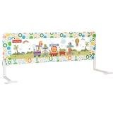 费雪(Fisher Price)宝宝床护栏床栏150cm(儿童床围栏 安全防护防止宝宝跌落)FP150