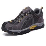 TFO  登山鞋 户外高弹减震透气舒适低帮牛皮登山鞋842728 男款碳灰色 39