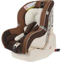 Kiwy原装进口汽车儿童安全座椅 哈雷卫士 正反双向安装 0-4岁 坐躺睡一体宝宝椅 摩卡棕