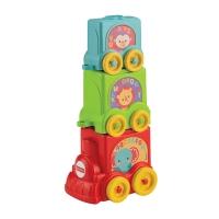 费雪(Fisher Price) 早教益智玩具 缤纷动物叠叠车Y8653