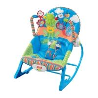 费雪 Fisher-Price 新生儿安抚玩具 安抚互动多功能轻便摇椅DRD27