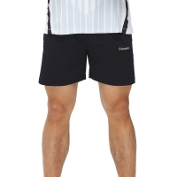 川崎KAWASAKI羽毛球服 针织短裤 SP-16329 黑色 L#