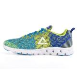 匹克(PEAK)时尚运动鞋  男跑步鞋DH610327 港口蓝/荧光黄 43码
