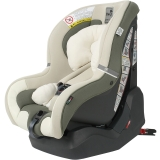 Kiwy原装进口汽车儿童安全座椅 哈雷卫士 正反双向安装 0-4岁 坐躺睡一体宝宝椅 灵动绿