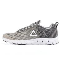 匹克(PEAK)时尚运动鞋  男跑步鞋DH610327 冰川灰/城堡灰 40码