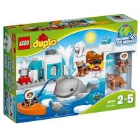 乐高 得宝系列 2岁-5岁 北极动物 10803 益智 儿童 积木 玩具LEGO