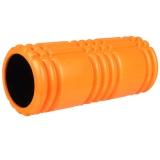 普为特POVIT 健身瑜伽柱 空心泡沫轴按摩轴肌肉放松滚轴平衡棒 橙色 P-9334