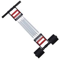 凯速弹簧拉力器  男士多功能臂力胸肌健身器材 多功能三用拉力握力器