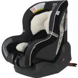 kiwy原装进口宝宝汽车儿童安全座椅isofix硬接口0-4岁 新生婴儿双向可躺 哈雷卫士 典雅黑