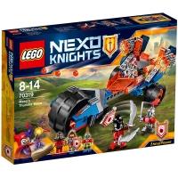 乐高 未来骑士团系列 8岁-14岁 梅西的雷霆12连发冲锋车 70319 儿童 积木 玩具LEGO(售完即止)