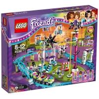 乐高 好朋友系列 8岁-12岁 游乐场大型过山车 41130 儿童 积木 玩具LEGO