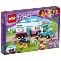 乐高 好朋友系列 6岁-12岁 马用房车 41125 儿童 积木 玩具LEGO(售完即止)