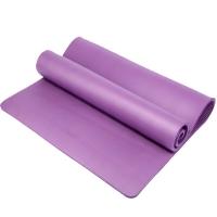 凯速NBR环保 188*100cm加长加宽防滑防潮健身瑜伽垫 15MM 紫色 EA08