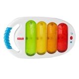 费雪(Fisher Price)早教益智玩具 拍打小木琴手敲琴颜色声音感知培养玩具CBH77