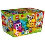 乐高 得宝系列 2岁-5岁 创意拼砌篮 10820 益智儿童 积木 玩具LEGO