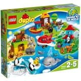 乐高(LEGO)积木 得宝DUPLO环球动物大集合2-5岁 10805 儿童玩具 男孩女孩生日礼物 大颗粒