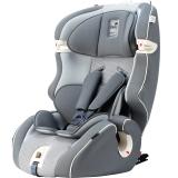 Kiwy原装进口汽车儿童安全座椅 无敌浩克 isofix硬接口 9个月-12岁宝宝车载座椅 梦幻灰