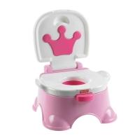 费雪(Fisher Price)宝宝婴儿用品玩具便盆尿盆 豪华音乐嘘嘘乐-粉色BGP35