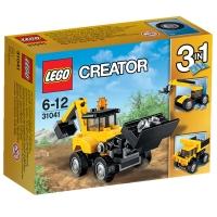 乐高 (LEGO) LEGO Creator 创意百变运输系列 工程车辆 31041  儿童 积木 玩具LEGO