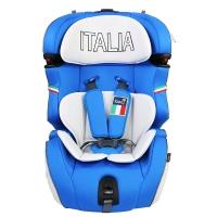 Kiwy原装进口汽车儿童安全座椅 米兰之星 isofix硬接口 9个月-12岁 皇室蓝