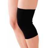 D&M 日本運動護膝男女跑步冬季保暖護膝蓋護具老人健身護膝 原裝進口 821黑L一只裝