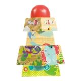 费雪(Fisher Price)益智积木玩具 小动物叠塔 FP1010