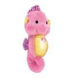 费雪(Fisher Price)益智玩具声光安抚海马DGH83-粉色