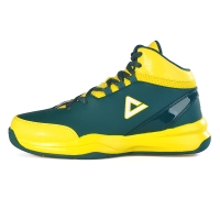 匹克(PEAK)篮球鞋运动鞋 男款减震耐磨防滑经典战靴DA054611深墨蓝/闪耀黄42