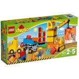 乐高(LEGO)积木 得宝DUPLO大型建筑工地2-5岁 10813 儿童玩具 男孩女孩生日礼物 大颗粒