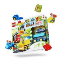乐高(LEGO)积木 得宝DUPLO我的第一组汽车与卡车套装1.5-5岁 10816 早教益智玩具 男孩女孩生日礼物 大颗粒